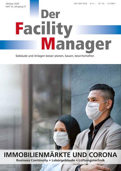 "COVID-19 Lösungen der InCaTec Solution  im aktuellen ""Facility Manager"""
