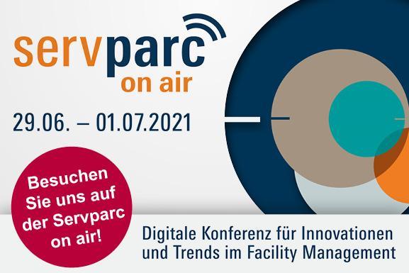 Servparc on air 2021 – wir sind dabei!